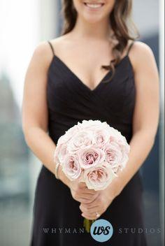 Bridesmaids Bouquet / Leah & Michael / Le Parker Meridien / Whyman Studios