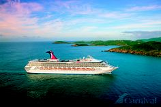 The Carnival Destiny.  Can't forget the boat ride itself. Some of the best time are spent on the boat.