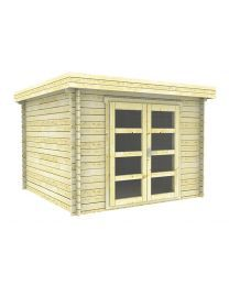 Interflex 3030L tuinhuisje / blokhut Outdoor Living, Shed, Outdoor Structures, Outdoor Life, The Great Outdoors, Outdoors, Sheds, Tool Storage, Barn