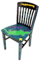 ideas for painting chairs