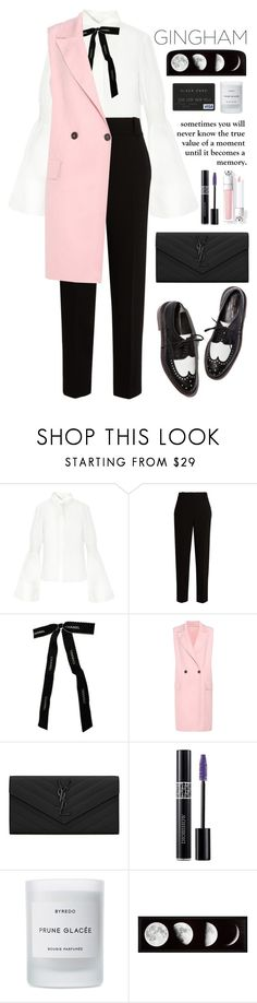 """Pink"" by kamarkhalili ❤ liked on Polyvore featuring The Row, Chanel, Marni, Yves Saint Laurent, Christian Dior, xO Design and Byredo"