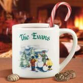 Holiday Snow Mug