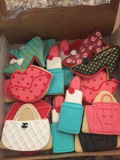High Heel Cookies, Shoe Cookies, Cupcake Cookies, Cupcakes, 25th Birthday, Birthday Woman, Birthday Cookies, Sugar Cookie Royal Icing, Cookie Icing