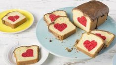You'll find the ultimate Hidden Heart Cake recipe and even more incredible feasts waiting to be devoured right here on Food Network UK.