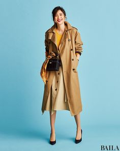 Japan Fashion, Simple Style, Personal Style, Winter Fashion, Raincoat, Womens Fashion, Jackets, Beauty, Fashion Clothes