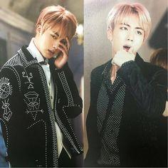 ; BTS WINGS CONCEPT BOOK _ #방탄소년단 #BTS #RapMonster #랩몬스터 #Jungkook #정국 #V #뷔 #Suga #슈가 #Jhope #제이홉 #Jin #진 #jimin #지민 Bts Wings, Korean Bands, Rap Monster, Seokjin, Jimin, Boys, Beauty, Baby Boys, Senior Boys