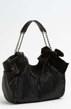 Betsey Johnson 'Rhinestones' Satchel available at #Nordstrom I want this so bad and they are sold out!! Ahhh!