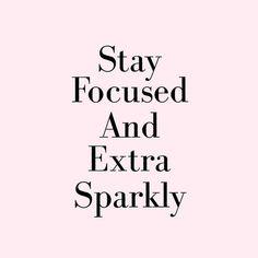 Sparkle sparkle... Every girl needs a lil sparkle...