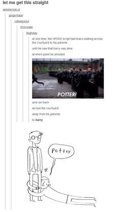 Harry Potter HP Draco Malfoy