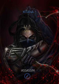 Mortal Kombat Kitana Variation: Assassin by Grapiqkad on DeviantArt