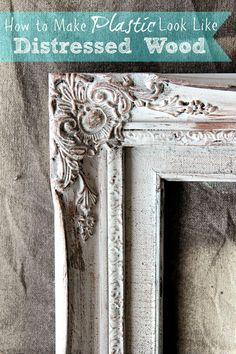 When you come across plastic frames at the Thrift Store…don't think they won't work for you…just look what you can do over at Bless'er Home! Don't they look fabulous! So don't pass them up…new life is just waiting to happen to them! Distressed Picture Frames, Painted Picture Frames, Antique Picture Frames, Antique Frames, Distressed Painting, Distressed Wood, Plastic Picture Frames, Chalk Paint Projects, Craft Paint