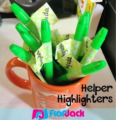 FlapJack Educational Resources: Helper Highlighters for Early Finishers