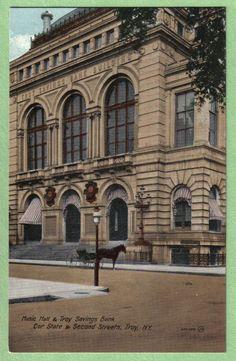 Music Hall Troy Savings Bank Troy NY Postcard | eBay