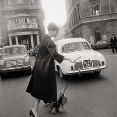 Audrey Hepburn, Rome, 1960