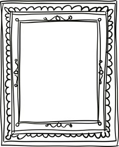 printable picture frame  200  Free Vintage Ornaments, Frames and Borders | Vintage ...