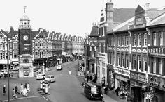 Old photo of Clock Tower And Broadway c1965, #Crouch End, right next to our base.