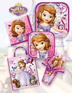 Sofia the First is Disney's newest princess. If you are hosting a Sofia the First Birthday Party for your little girl, check out these hard to find Sofia the First Party Supplies!