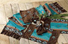 Skystone Turquoise Desert Table Runner