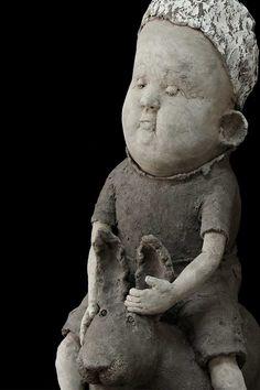 Art Sculpture, Garden Sculpture, Sculptures, Clay Art, Ceramic Art, Art Dolls, Sculpting, Pottery, Ceramics