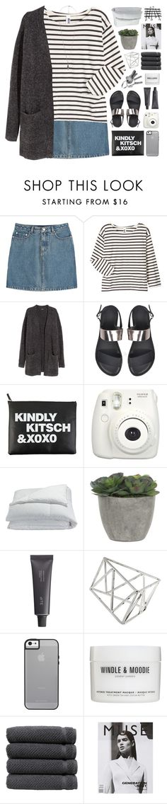 """TIME IN A BOTTLE"" by emmas-fashion-diary ❤ liked on Polyvore featuring A.P.C., Margaret Howell, H&M, Frette, Lux-Art Silks, Bite, Topshop, Windle & Moodie, Linum Home Textiles and Forever 21"