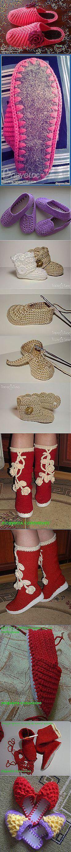 Лидия Лобченко: вязание крючком | Postila.ru | утепляем ножки | Постила