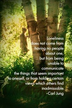 It is critical to find your tribe. Quote by Carl Jung.