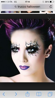 Halloween makeup! The witches !!! See more on http://www.blogandthecity.it/trucco-per-halloween-ecco-a-voi-qualche-suggerimento/