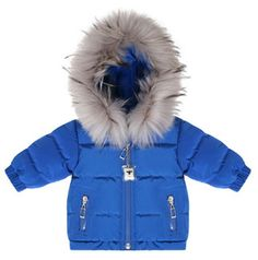 Baby Dior Indigo Snow Suit Set: