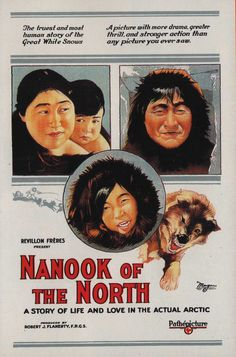 Nanouk l'Esquimau - Nanook of the North - Robert Flaherty (1922)