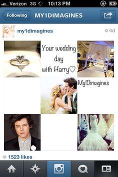 Your wedding. Harry