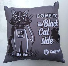Almofada Cat Vader