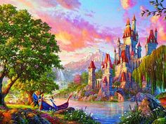 Thomas Kinkade: Beauty and the Beast II (750 Piece Puzzle by Ceaco)