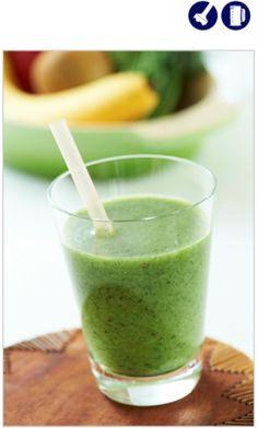 「キウイとほうれん草のグリーンジュース」のレシピ by デロンギ・キッチン   料理レシピブログサイト タベラッテ