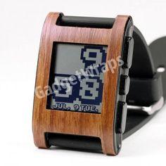 Walnut Pebble Watch Wrap $9.00