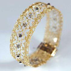 Bobbin Lace Bracelet - Paris From DMC -  -  - Casa Cenina