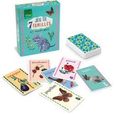 8.90 Vilac - 8634 - Jeu de Société - Jeu de 7 Familles Nathalie Lété Vilac http://www.amazon.fr/dp/B00BZQQODK/ref=cm_sw_r_pi_dp_7Fbiub1AN74AK