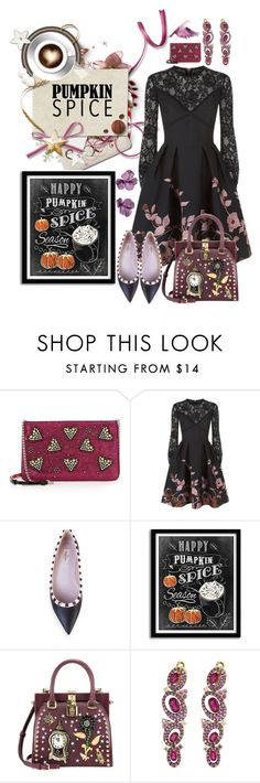 """""""Untitled #1317"""" by sunnydays4everkh ❤ liked on Polyvore featuring Christian Louboutin, Elie Saab, Valentino, Dolce&Gabbana, Judith Ripka and JAR"""
