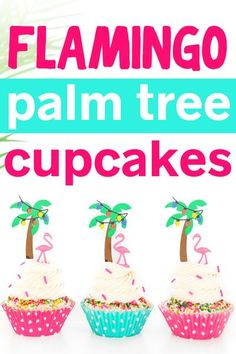Tropical Holiday Season? It's a lot different than celebrating in the North Pole! Whip up some super cute Palm Tree Christmas Cupcakes for your festivities. #californiachristmas #floridachristmas #pinkchristmas #flamingoparty Christmas Tree Cupcakes, Christmas Sprinkles, Pink Christmas Tree, Christmas Bags, Fun Holiday Desserts, Holiday Party Themes, Holiday Fun, Christmas Recipes, Sprinkle Cupcakes