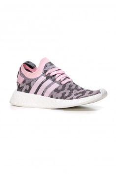Pantofi sport de piele Nmd R2 Adidas Originals - Adidas Originals - Femei - Branduri Nmd R2, Adidas Originals, The Originals, Burberry, Michael Kors, Sneakers, Sports, Fashion, Tennis