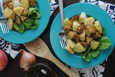 Chicken and Apple Baked Polenta Recipe