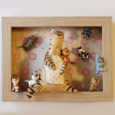 Biscuit, Cat Work, Paper Mache Crafts, Cute Clay, Silly Cats, Paperclay, Salt Dough, Handmade Polymer Clay, Cat Gifts