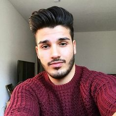 for men who are passionate about haircuts Latest Haircuts, Hairstyles Haircuts, Haircuts For Men, Hair And Beard Styles, Curly Hair Styles, Natural Hair Styles, Gents Hair Style, Beard Model, Awesome Beards