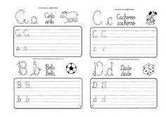 Fichas cursiva