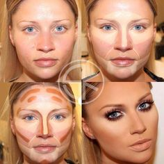 Girls before makeup and after - @kseniyasemenova