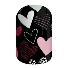Make your Valentine's Day manicure stand out with Jamberry's Hearts Aglow nail wraps!  These glow-in-the-dark wraps feature graphic hearts on a black background. These wraps can be worn alone or mixed with other favorites. They are eligible for Buy 3 and Get 1 FREE!  For more great ideas, follow me on Facebook:  https://www.facebook.com/amysamazingjamaddicts/ #jamberry #heartsaglowjn #nailwraps #glowinthedark #valentinesday #hearts #amysamazingjamaddicts