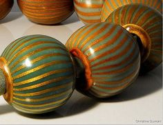 Christine Dumont polymer beads. She sells online courses via http://www.allovercreation.net/