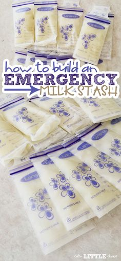 While breastfeeding is truly a beautiful and wonderful experience, there will be a time when you'll be looking to build an emergency milk stash.