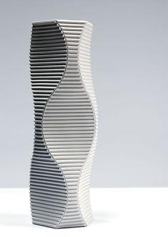 Keith Varney, 'Pulse 3' - hand built porcelain sculptural vessel