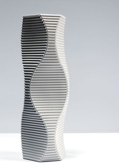 Keith Varney, 'Pulse 3' - hand built porcelain sculptural vessel