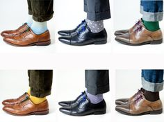 Throw out your white socks, and cover up. | 16 Ways To Dress Like A Grown Man